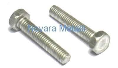 /M5/x 30 Screw Set 6/pezzi esagono incassato in alluminio dorato/